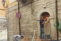 Murato l'accesso della casa natale di Giovanni Bovio