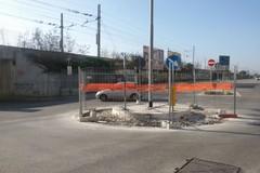 Rotonda di via Istria, lavori di risagomatura quasi ultimati