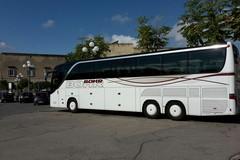 Assalto di bus in piazza Plebiscito, ma senza posti