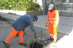 Amiu Trani, da oggi attività di pulizia di caditoie e pozzetti stradali in tutta la città
