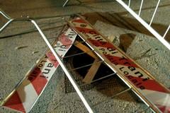 Tombini rubati o divelti: il pericolo corre su via Papa Giovanni