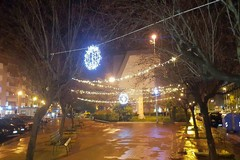 """Luminarie a Pozzopiano, ma il merito è dell'Associazione """"Falchi P.S. Napoli"""""""