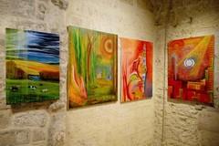 Nello chalet della villa comunale mostra d'arte di Vincenzo Posa