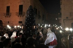 Processione dell'Addolorata, ecco la lunga notte dei tranesi. LE FOTO