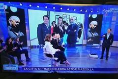 Astor Piazzolla e il tango portano Trani ancora in Rai