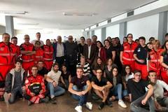 Trani cardioprotetta, studenti dell'Ites alle prese con le manovre di primo soccorso