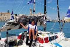 Lo sport contro ogni barriera: il velista Marco Rossato fa tappa a Trani