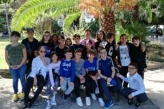 Orienteering in Villa comunale, la scuola Baldassarre sperimenta