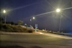 Perde il controllo dell'auto sulla Trani-Andria, ferito il conducente