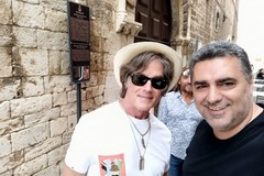 Vip a Trani, in città l'ex star di Beautiful Ronn Moss