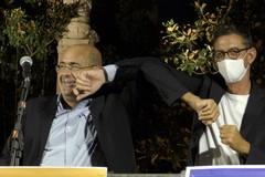 Nicola Zingaretti a Trani: «Sono qui perché Bottaro se lo merita»