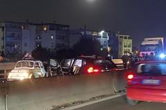 Brutto incidente a Trani Sant'Angelo, tre auto coinvolte e diversi feriti