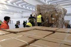Altro arrivo di materiale sanitario dalla Cina acquistato dalla Regione Puglia