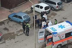 Donna investita in Largo Giacinto Francia: trasportata in ospedale