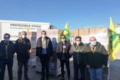25 quintali di pasta, la generosa donazione di Coldiretti alle famiglie più bisognose
