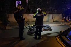 Auto contro moto in via Malcangi: un ferito