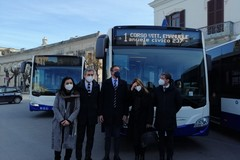 Amet, inaugurati i quattro nuovi bus a bassa emissione