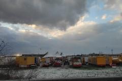 Maltempo, leggera spolverata di neve nelle campagne di Trani