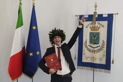 Un 110 e lode inaugura le lauree in  sala Tamborrino