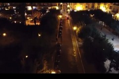 Stasera l'ultima puntata  della prima serie di Suonart: piazza della Repubblica