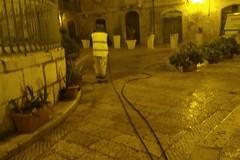 Amiu, lavaggio straordinario delle strade nei pressi della chiesa di San Toma