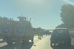 Incidente sulla 16bis, lunghe code e traffico rallentato in direzione Bari
