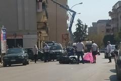 Incidente in via Superga: ferito un motociclista