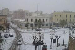 Emergenza neve, per lunedì disposta la chiusura delle scuole