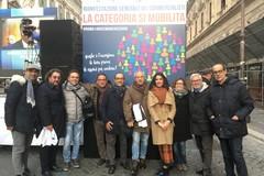 Commercialisti in protesta  a Roma, presente anche delegazione di Trani