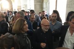 """Brian Eno inaugura la sua """"Light Music"""" al Castello Svevo"""