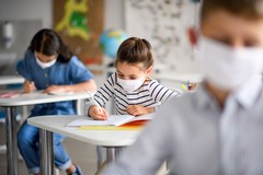Scuola in Puglia, in classe rientrato il 55% degli alunni