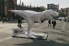 Il bollettino è preistoria: a Trani arriva il dinosauro Dino