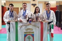 La Mask Trani si distingue al Campionato Mondiale Wtka: ben 10 le medaglie portate a casa