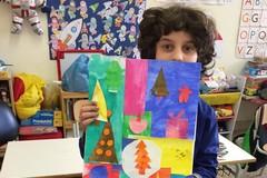 Alunni della D'Annunzio pittori per un giorno: successo per il laboratorio di arte creativa
