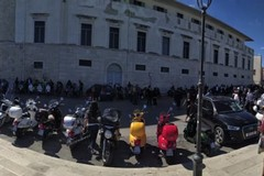 A Trani il primo raduno di Vespe provenienti da tutta la Puglia