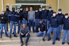 Il Commissariato di Polizia di Trani saluta il sostituto commissario Manlio Di Renzo, da oggi in pensione