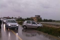Incidente con tre feriti sulla provinciale Andria-Trani