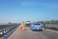 Auto contro guard rail a Trani Boccadoro: disagi nella circolazione verso Barletta