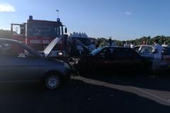 Nuovo incidente stradale: quattro feriti lievi in via Superga