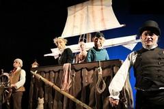 """Raccontando sotto le stelle, oggi in scena """"L'isola dei pirati"""" della compagnia abruzzese i Guardiani dell'Oca"""