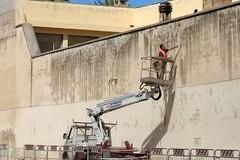 Lungomare Chiarelli: lavori di messa in sicurezza per il muro della Casa di reclusione femminile