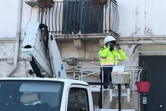Sicurezza, installati i proiettori in piazza Longobardi