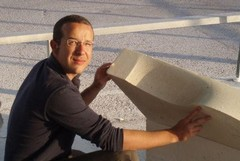 A Trani l'arte dello scalpellino sopravvive grazie a Luc Tamborero