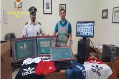 Contrasto alla contraffazione, maxi operazione delle Guardia di Finanza in Puglia
