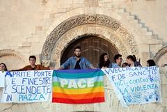 Gli studenti di Trani marciano contro la violenza