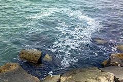 Un tratto del mare di Trani tra i peggiori della Puglia
