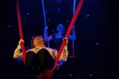 Trani sul filo prosegue a pieno ritmo circense con lo spettacolo di Nando e Maila
