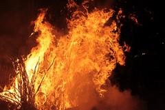 Il fuoco protagonista della settimana medievale