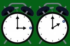 Torna l'ora solare: lancette dell'orologio un'ora indietro