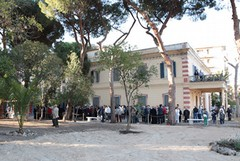 Villa Bini, parco fruibile a mezzo servizio
